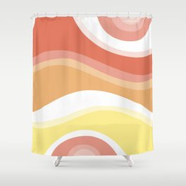 I AM A COLORFUL MIND Shower Curtain