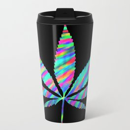 Weed : High Time Colorful Psychedelic Travel Mug