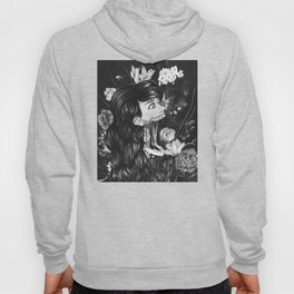 Suspended Degeneration Black and White Hoody