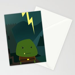 Glooming Ork Stationery Cards
