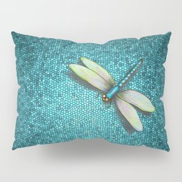 Dragonfly Mosaic Pillow Sham