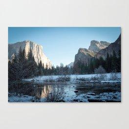 Sun in Winter Canvas Print