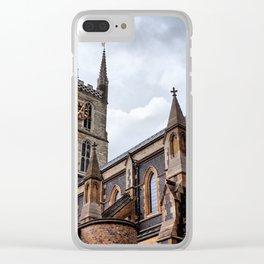 Gothic Tones Clear iPhone Case