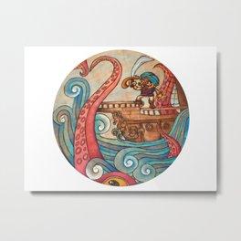 Simbad: Monsters of deep sea. Metal Print