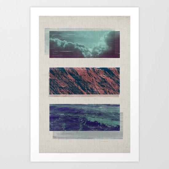 ELEMENTARY / 2 Art Print