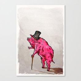 A classic pork Canvas Print