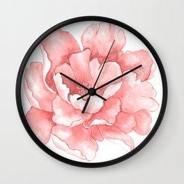 Beautiful Flower Art 21 Wall Clock