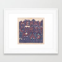 merry christmas Framed Art Prints featuring Merry Christmas! by Duncan Barrett