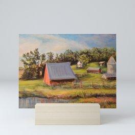 Nestled in the Farmland Mini Art Print