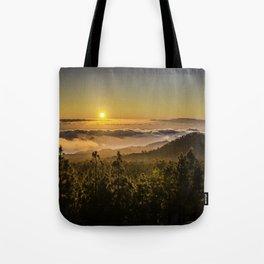 Sunset at 1800m Tote Bag