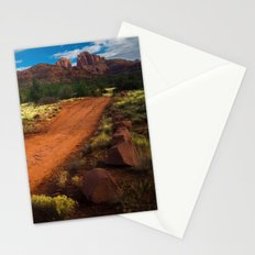 Red Desert Day Stationery Cards
