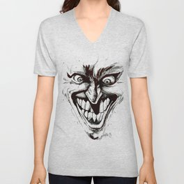 """Turn that Smile Upsidedown"" Unisex V-Neck"