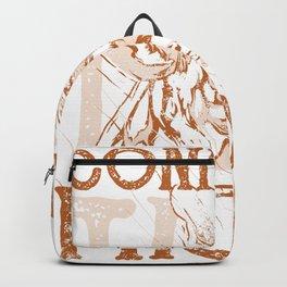 Giraffe Tall Backpack