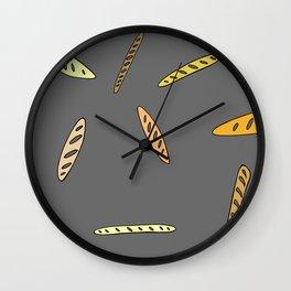 Baguette, anyone? Wall Clock