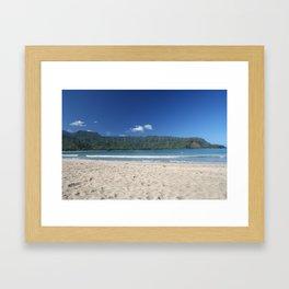 Hanalei Bay, Kauai Hawaii Framed Art Print