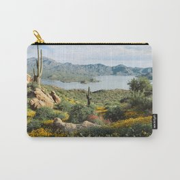 Arizona Blooms Carry-All Pouch