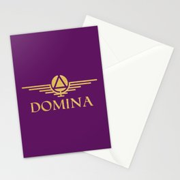Call me Domina Stationery Cards