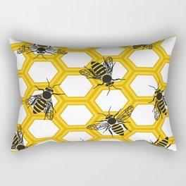 Honeycomb.Flat vector Rectangular Pillow