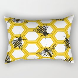 Honeycomb.Flat vector Rectangular Pillow