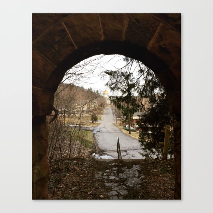 Redstone Canvas Print