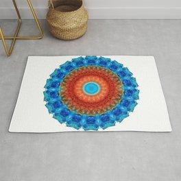 Seeing Mandala 2 - Spiritual Art By Sharon Cummings Rug