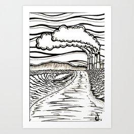 El Porto Art Print