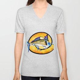 Marlinissos V1 - violinfish Unisex V-Neck