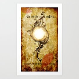 Inspiration(Color) Art Print