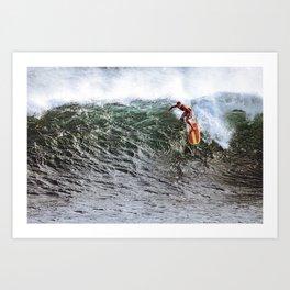 surfEXPLORE South Korea Art Print