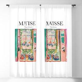 Matisse - The Open Window Blackout Curtain