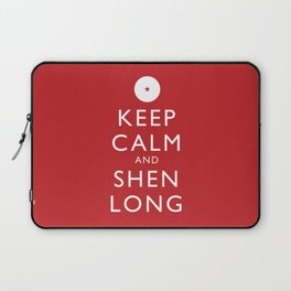 Keep Calm and Shen Long Laptop Sleeve