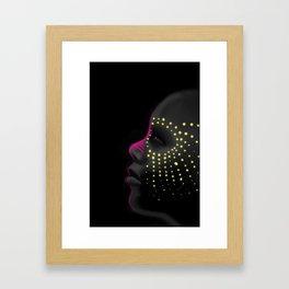 Black White Color Beauty Framed Art Print