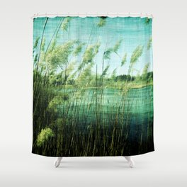Reeds At New Brooklyn Shower Curtain