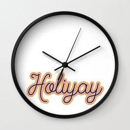 Holiyay Wall Clock