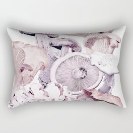 Mushroom Medley Rectangular Pillow