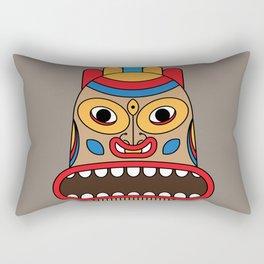 hawaiian tiki Rectangular Pillow