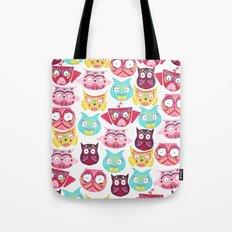 Ornate Owls Tote Bag