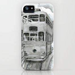 { 未來惑星 } Tramcar iPhone Case