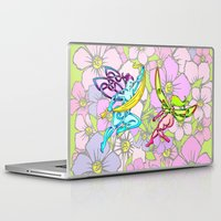 pixies Laptop & iPad Skins featuring Pixies by Knot Your World