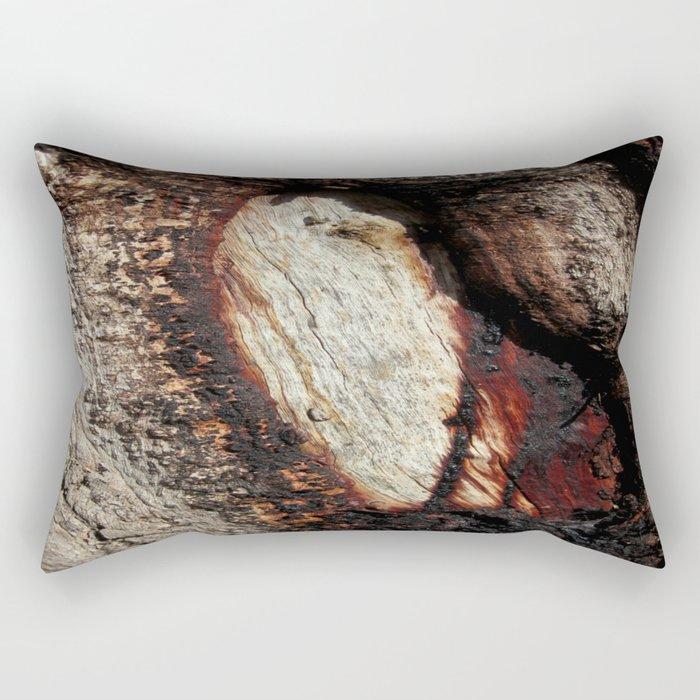 Aboriginal scarred Tree Rectangular Pillow