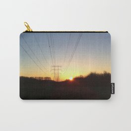 Pylon at sunrise Carry-All Pouch