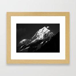 mountains #1 / aoraki mt.cook Framed Art Print