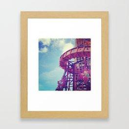 Disney Helter Skelter Framed Art Print