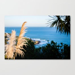 Manu Bay Lineup Canvas Print