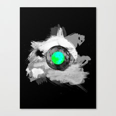Skull Moonfish Jawn Canvas Print
