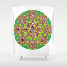 The Larvae and the Royal Jelly Shower Curtain