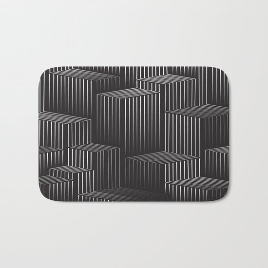 Blocks Bath Mat