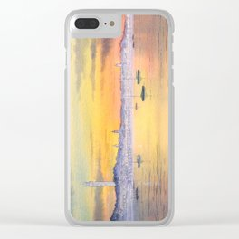 Impressions Of Provincetown Cape Cod USA Clear iPhone Case