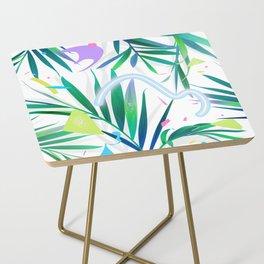 summer motel pattern Side Table