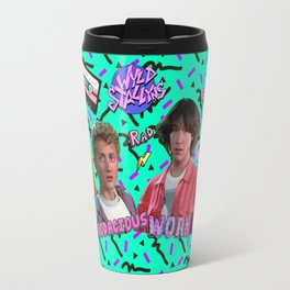 Bill and Ted Collage Travel Mug